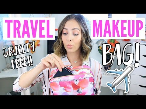 Make up - What's In My Travel Makeup Bag? Cruelty Free Edition!