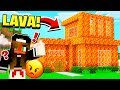 Download Lagu Turning HER House Into LAVA **PRANK** in Minecraft! Mp3 Free