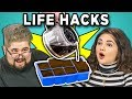 Download Video 10 LIFE HACKS YOU NEED TO KNOW with COLLEGE KIDS (REACT)