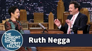 Ruth Negga Gets Distracted by Jimmy