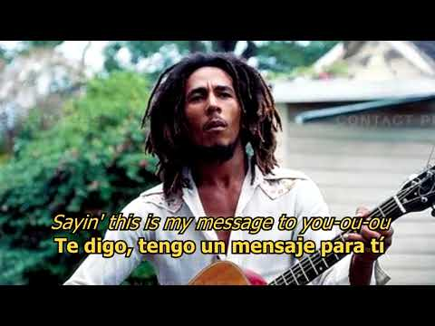 Video Three little birds - Bob Marley (LYRICS/LETRA) [Original] [w/earphones] download in MP3, 3GP, MP4, WEBM, AVI, FLV January 2017