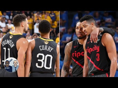 Video: NBA's best backcourts: Ryan Hollins ranks Lillard/McCollum over Steph/Klay | Jalen & Jacoby