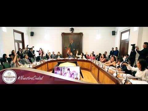 Cabildo H. Ayuntamiento de Tlalnepantla de Baz 23 de octubre del 2019