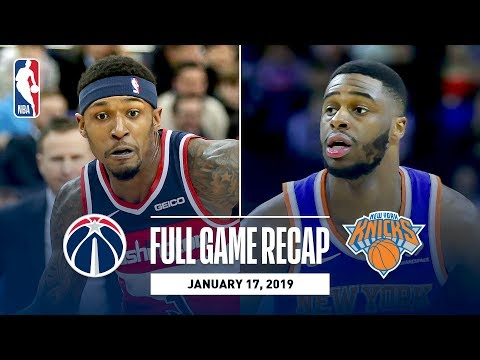 Video: Full Game Recap: Knicks vs Wizards | New York & Washington Go Down To The Wire In London