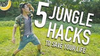 Video 5 Jungle Hacks To Save Your Life #JungleLife MP3, 3GP, MP4, WEBM, AVI, FLV Juli 2018