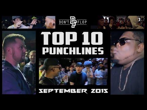 DON'T FLOP: TOP 10 PUNCHLINES | SEPTEMBER 2015 @DontFlop