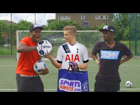 THE EXTREME ARSENAL FOOTBALL CHALLENGE   VS KSI ...& FT. TOBI