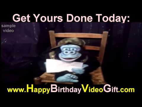 Happy Birthday Video | Sample 1 – Ventriloquist