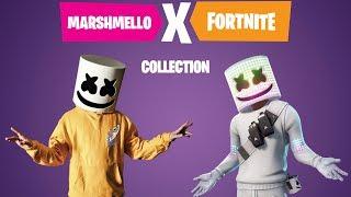 Exclusive Marshmello x Fortnite Collection