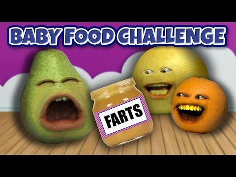 Video Annoying Orange - Baby Food Challenge! download in MP3, 3GP, MP4, WEBM, AVI, FLV January 2017