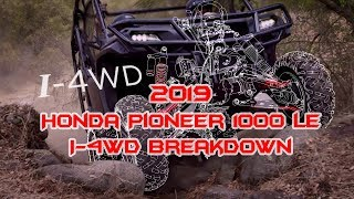 3. I-4WD breakdown. The advantage over traditional systems -  Honda Pioneer 1000LE - Honda Pioneer 1000