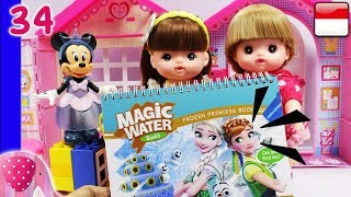 Video Mainan Boneka Eps 34 Disney Frozen Magic Water Book - GoDuplo TV MP3, 3GP, MP4, WEBM, AVI, FLV Maret 2019