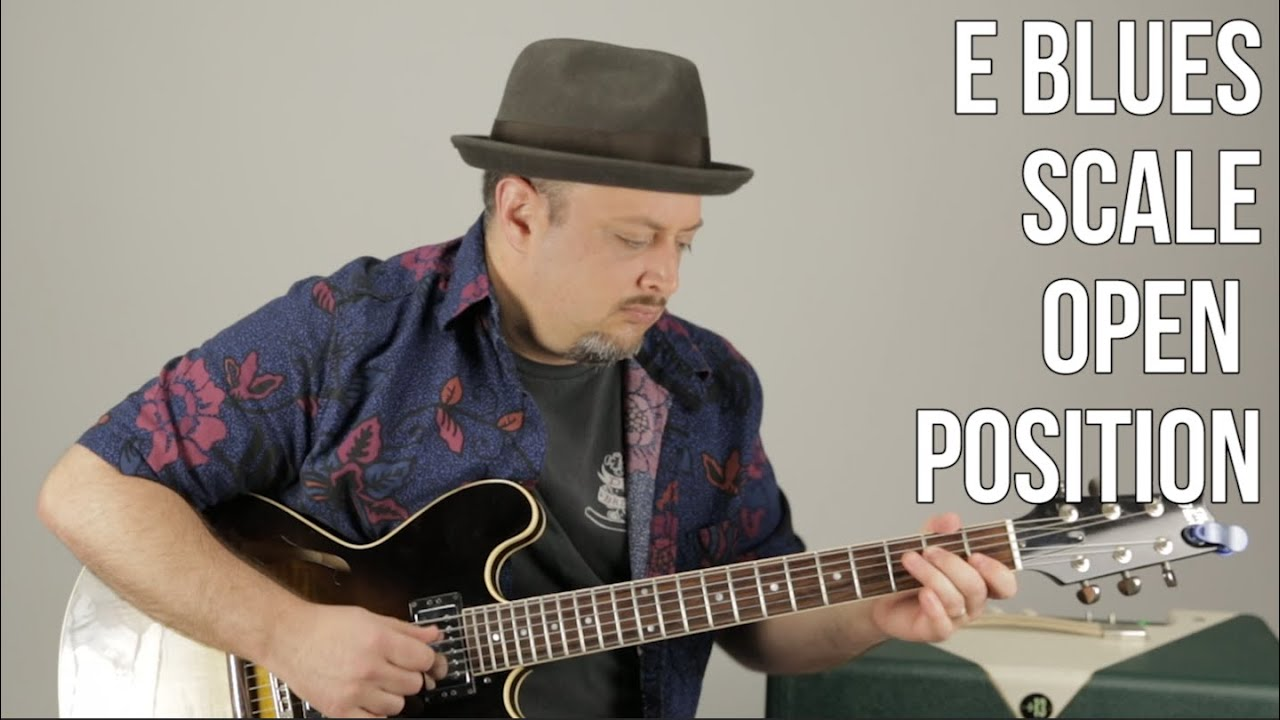 Blues Guitar Lessons: E Blues Scale – Beginner Blues Lead Guitar – Blues Soloing