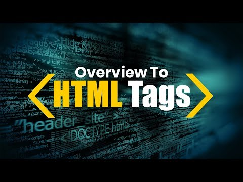 BrushUp Your HTML | HTML Tags | Eduonix