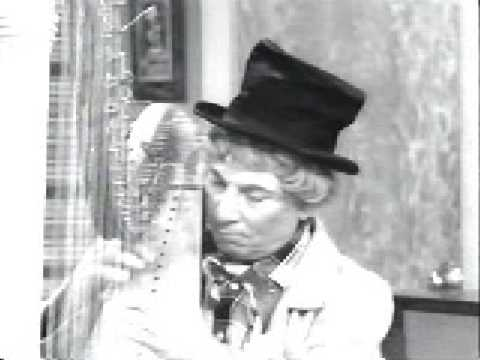 Harpo plays &quot;Take me out to the ball game&quot; on I love Lucy