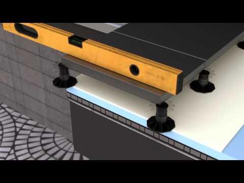 Tarrace System Animation 3D model