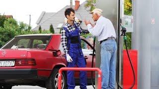 No proszę przestać, wyjmie mi Pan to! Zajebiste wkręcanie ludzi na stacji benzynowej – Polska!