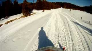 7. Polaris 900 RMK GoPro Hero HD Ride