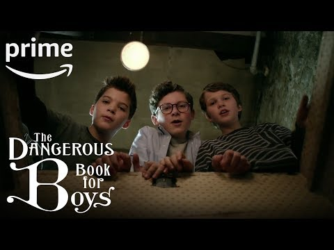 The Dangerous Book for Boys – Behind the Scenes | Prime Video  Kids