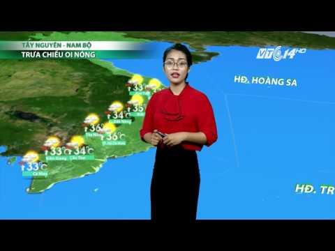 (VTC14)_Thời tiết 6h ngày 16.04.2017