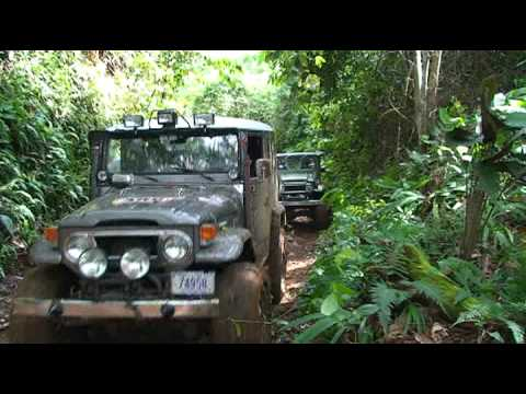 Land Cruiser crash on the mountain. Paseo 4x4 en Camalotillo