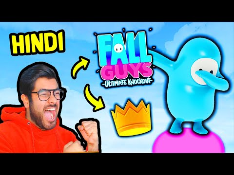 FALL GUYS 🤪 - Dhakka Mukki 😁 | [Funny/Hindi] | Hitesh KS