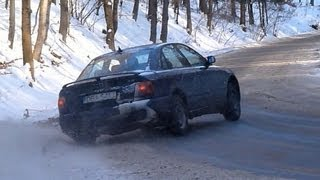 Audi A4 Snow Drift