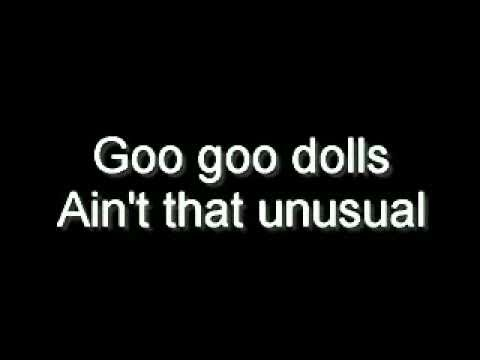 Tekst piosenki Goo Goo Dolls - Ain't That Unusual po polsku