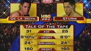 5. Jun 2004 - Felix Sturm Vs. Oscar De La Hoya