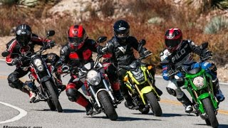 4. 125cc | Honda Grom vs. Kawasaki Z125 Pro vs. Kymco K-Pipe 125 vs. SSR Razkull 125