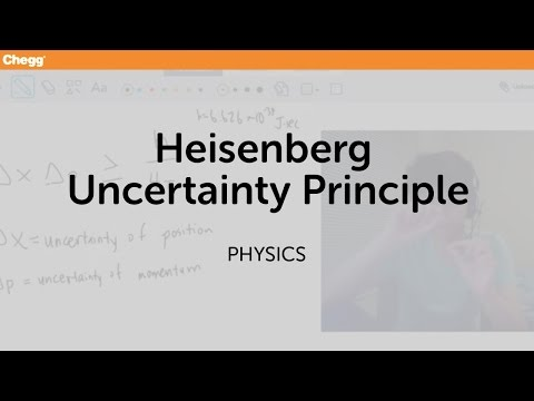 a study on the uncertainty principle This finding establishes an uncertainty principle in genetics for the   beaconsfield p order and disorder in biophysical systems: a study of.