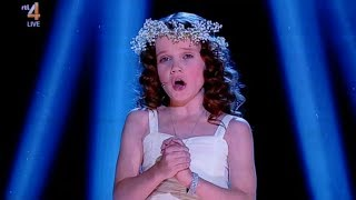 9 Year Old Amira Sings 'Ave Maria'    Holland's Got Talent 2013