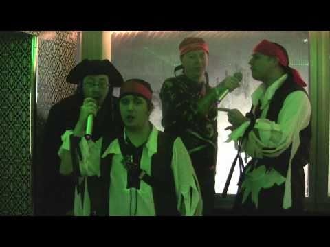 Japanese Karaoke Murdered By Drunken Pirates!