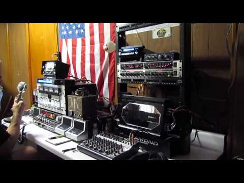 My home brew World of Sound…QSO with Blue Eagle…