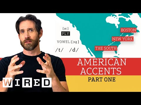 Accent Expert Gives a Tour of U.S. Accents - (Part One)   WIRED
