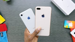 Video iPhone 8 Unboxing: Silver vs Gold! MP3, 3GP, MP4, WEBM, AVI, FLV Oktober 2017