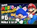 Super Mario 3D World Wii U - (1080p) Co-Op Part 6 - World 6