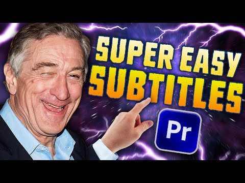 How to Edit Gaming Subtitles (Premiere Pro 2020)