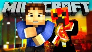 GTA HUNGER GAMES!? (Minecraft: Grand Theft Auto Hunger Games ft. Preston!)