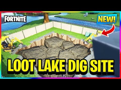*NEW* THE LOOT LAKE DIG SITE EVENT HAS STARTED! | Fortnite Battle Royale News