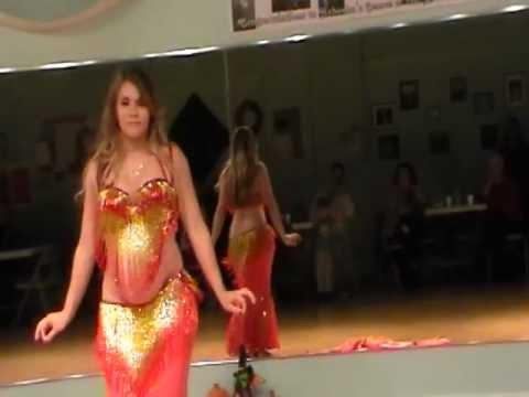 Almost 8 Months Pregnant Belly Dance