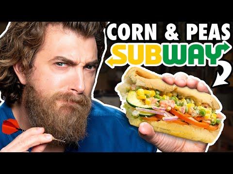 International Subway Taste Test