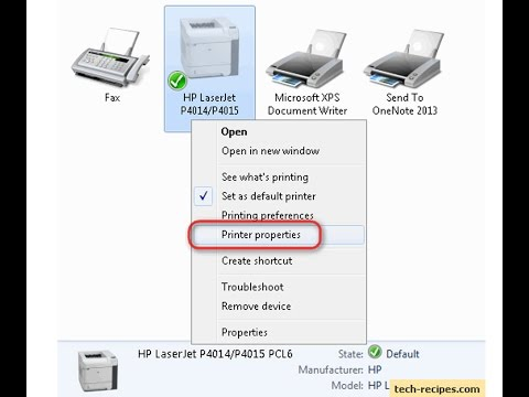 How to find printer on network