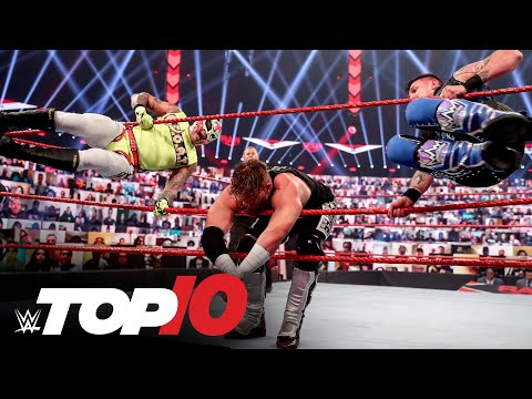 Top 10 Raw moments: WWE Top 10, Aug. 24, 2020