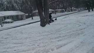 7. outlaw 50 sledding