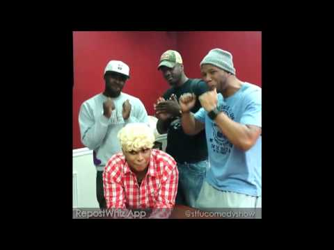 Stfucomedyshow monroe sweets gang banged by the stfu crew on be100