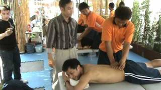 Sport Massage In Thailand University Games 38 At CU