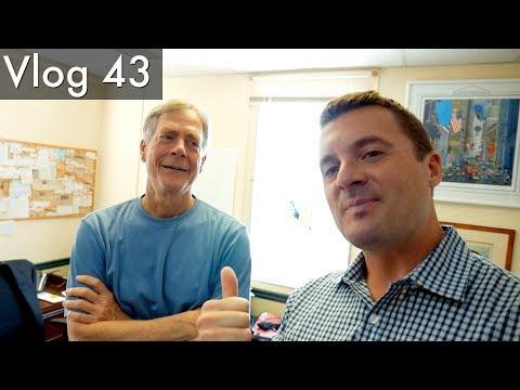 Vlog 43 - Interviewing Bob Prechter of Elliott Wave International