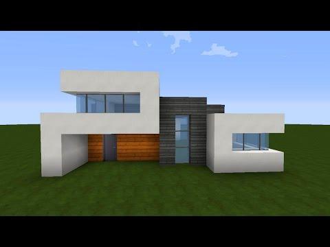 Minecraft gro es modernes haus villa akazie wei gr n for Minecraft modernes haus deutsch