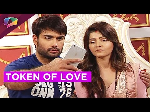 Harman and Saumya's selfie moment